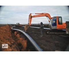 Демонтаж водоводов из пластиковых труб ПНД